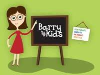 site jeunesse Barry4kids, en quatre langues